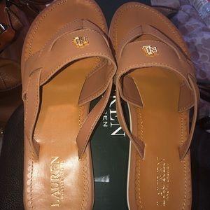 Ralph Lauren Slide sandal, Size 10b